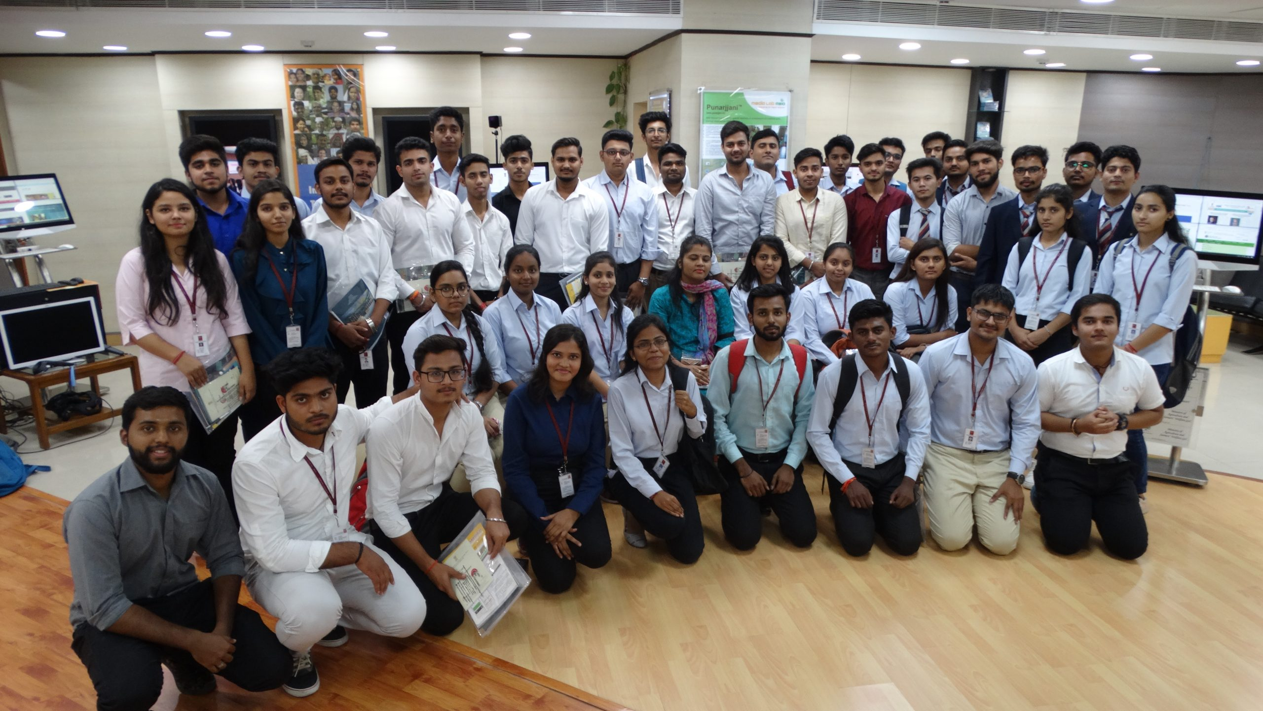 industrial visit by KCC students