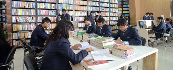 Library at KCC ilhe