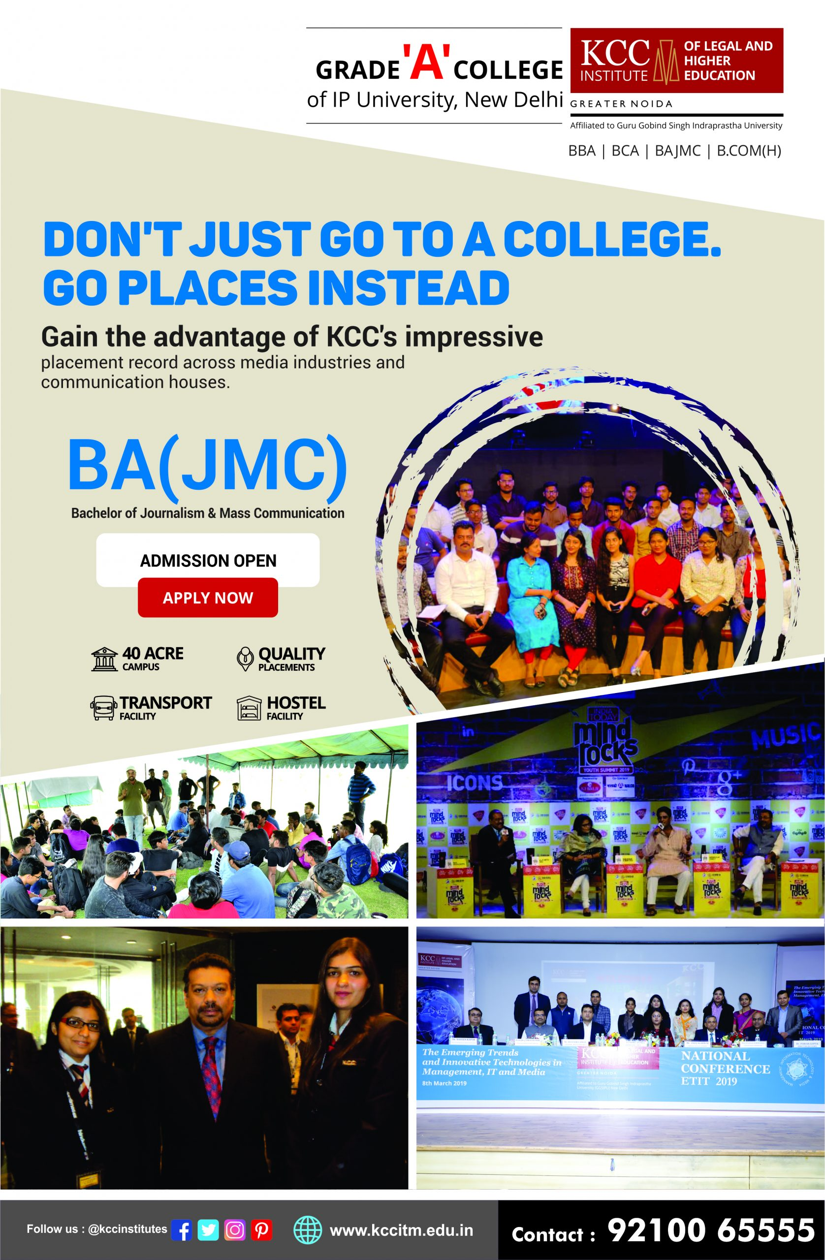 BJMC College in GGSIPU