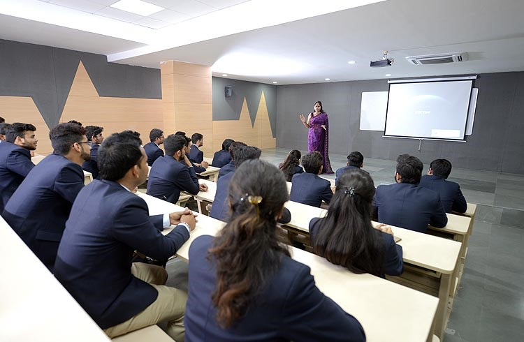 Lecture Halls at BBA College